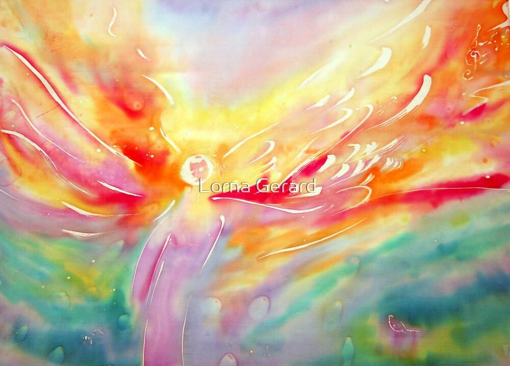 Angel. Softly Gently by Lorna Gerard