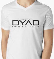 Property of DYAD Institute - Orphan Black V-Neck T-Shirt