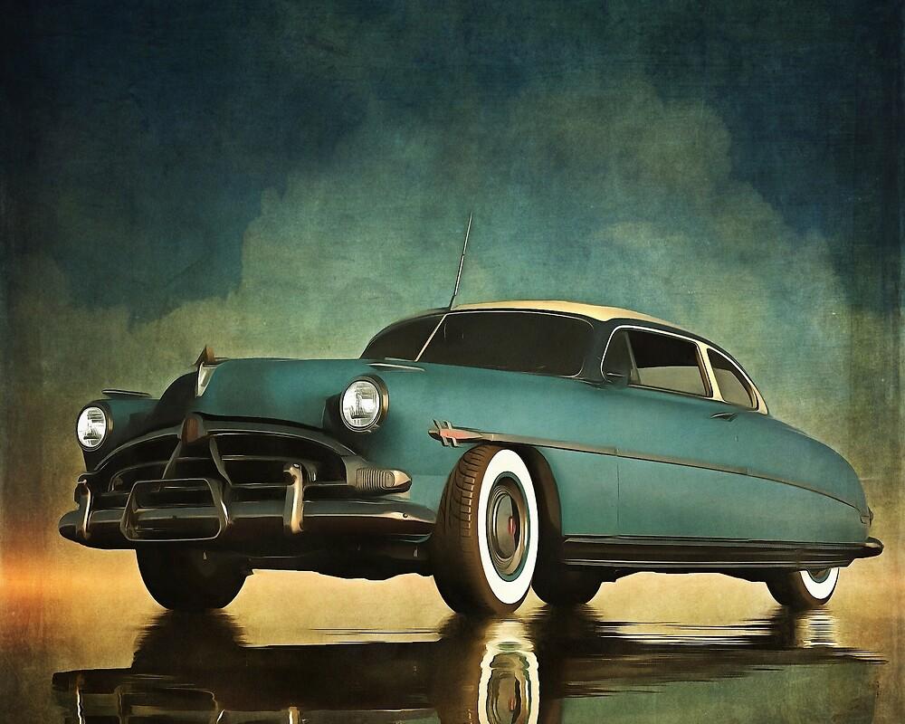 Hudson Hornet oldtimer by Jan Keteleer