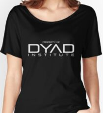 Property of DYAD Institute (Black) - Orphan Black Women's Relaxed Fit T-Shirt