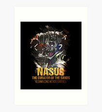 League of Legends - NASUS [The Curator Of The Sands] Art Print