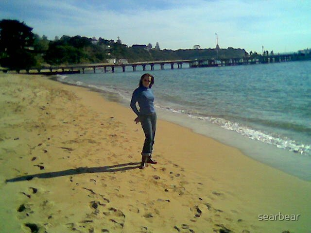 Beach pose by searbear