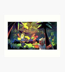 Island Empire - Forest Art Print
