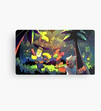 Island Empire - Forest Metal Print