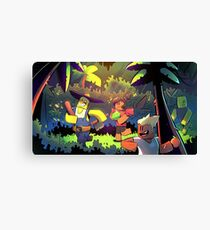 Island Empire - Forest Canvas Print