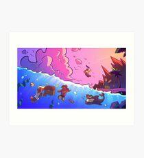 Island Empire - Ocean Art Print
