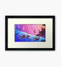 Island Empire - Ocean Framed Print
