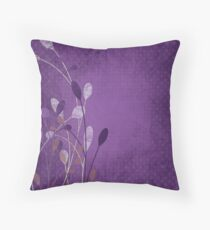 Tranquil buds Throw Pillow