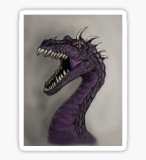 Purple dragon Sticker