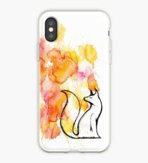 Fox Splatter iPhone Case
