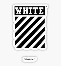 off-white og Sticker