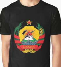 Mozambique Coat of Arms Graphic T-Shirt