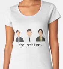 Jim, Dwight, Michael- The Office Women's Premium T-Shirt