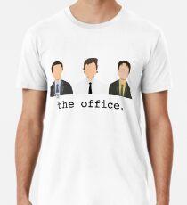 Jim, Dwight, Michael - Das Büro Männer Premium T-Shirts