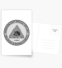 #COINTELTRO FEPE BADGE Postcards