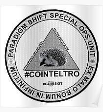#COINTELTRO FEPE BADGE Poster