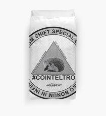 #COINTELTRO FEPE BADGE Duvet Cover