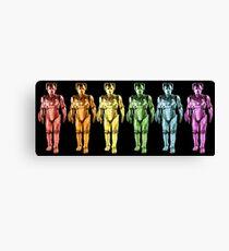 Cyberman Spectrum Canvas Print