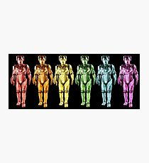 Cyberman Spectrum Photographic Print