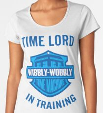 Time Lord in Training Women's Premium T-Shirt