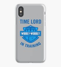 Time Lord in Training iPhone Case/Skin