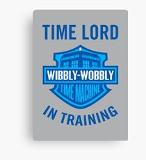 Time Lord in Training Canvas Print