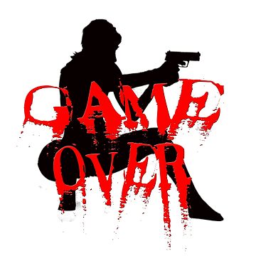 Game over is the new t-hsirt by Washingtonsou