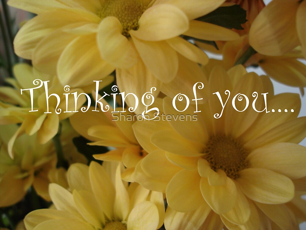Thinking of you by Sharon Stevens