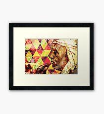 Arab man Framed Print