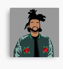 Weeknd Roses Canvas Print