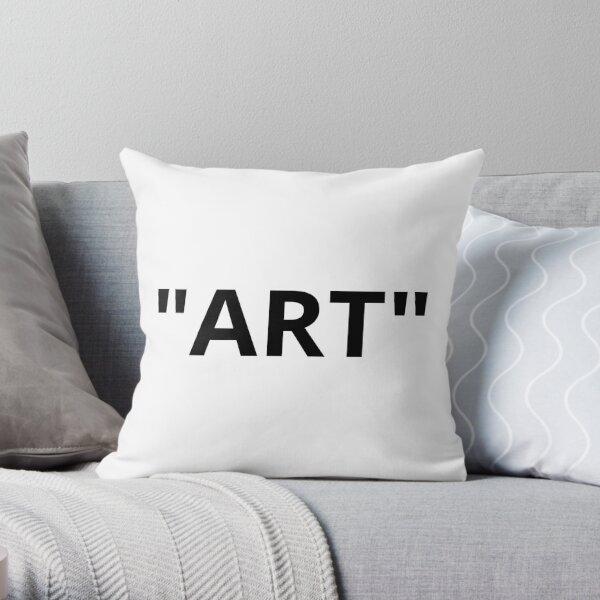 """Marques de citation """"ART"""" Coussin"""