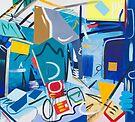Abstract Interior #40 by Lisa V Robinson
