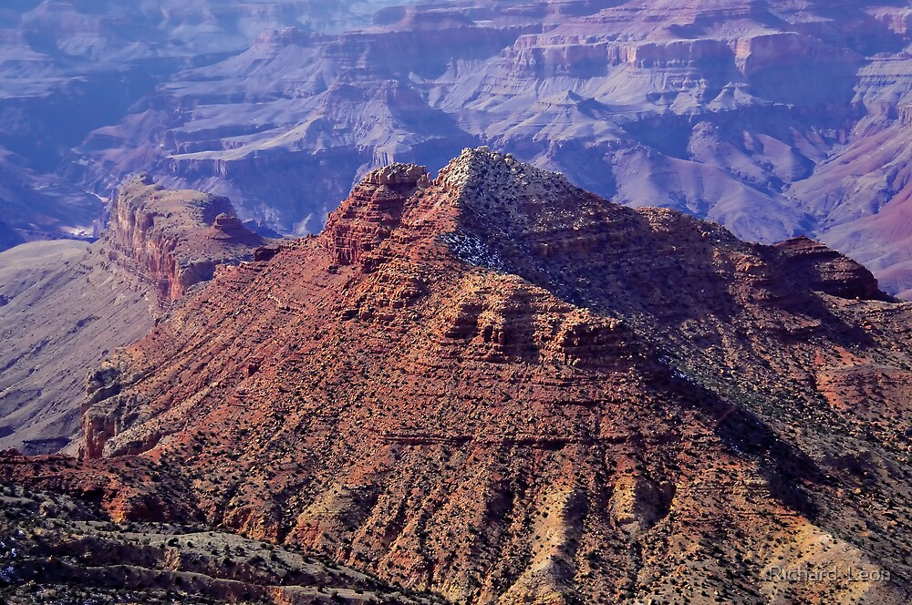 South Entrance View  •  Grand Canyon, Arizona by Richard  Leon