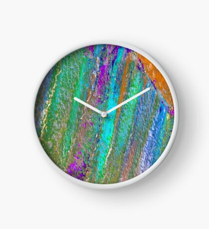 Colors in Stone II Clock