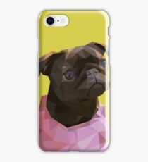Lowpoly Nala The Pug iPhone Case/Skin
