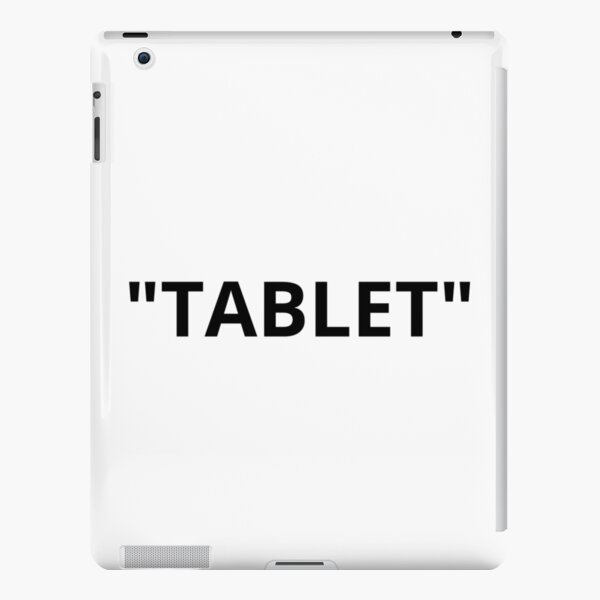 """""""TABLET"""" Quotation Marks iPad Snap Case"""
