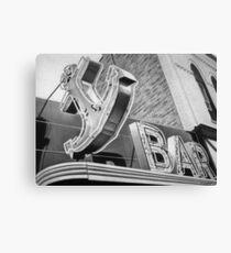 Anchor Bar Canvas Print