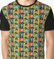 Rik , Neil , Mike , Vyvyan Graphic T-Shirt
