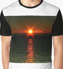 """Starry-Eyed"" Sunset Graphic T-Shirt"