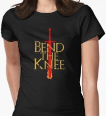 Game of Thrones: Bend the Knee Women's Fitted T-Shirt