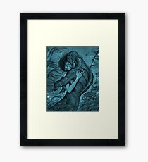 the shape of water Framed Print