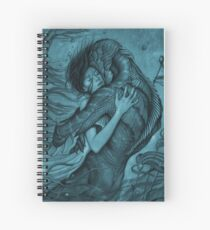 the shape of water Spiral Notebook