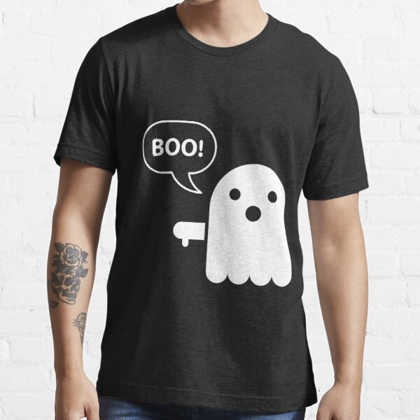 Boo Daumen runter Halloween Ghul Ghost Funny Kostüm Essential T-Shirt