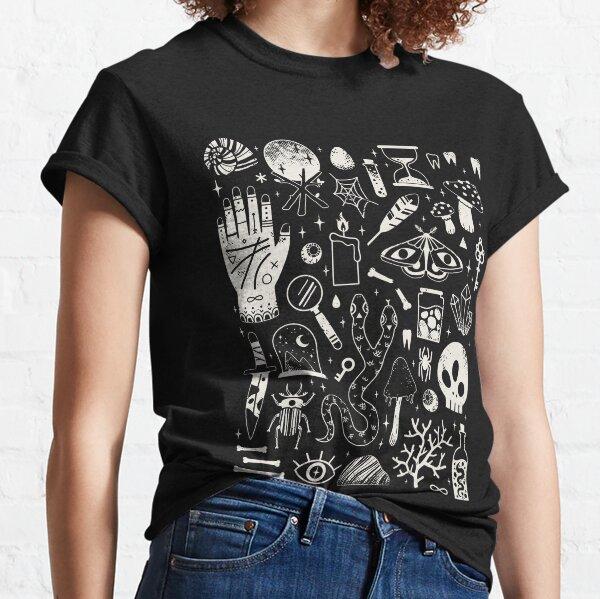 Curiosities: Bone Black Classic T-Shirt