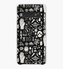 Kuriositäten: Bone Black Hülle & Klebefolie für Samsung Galaxy