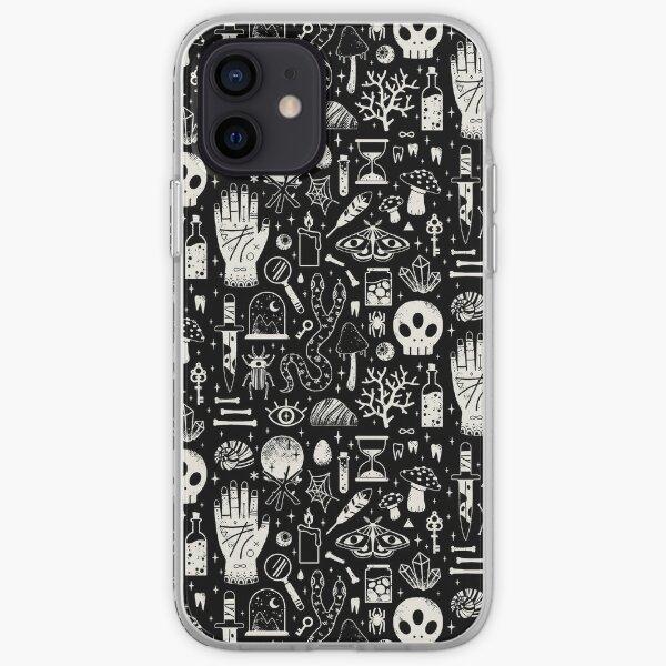Curiosities: Bone Black iPhone Soft Case