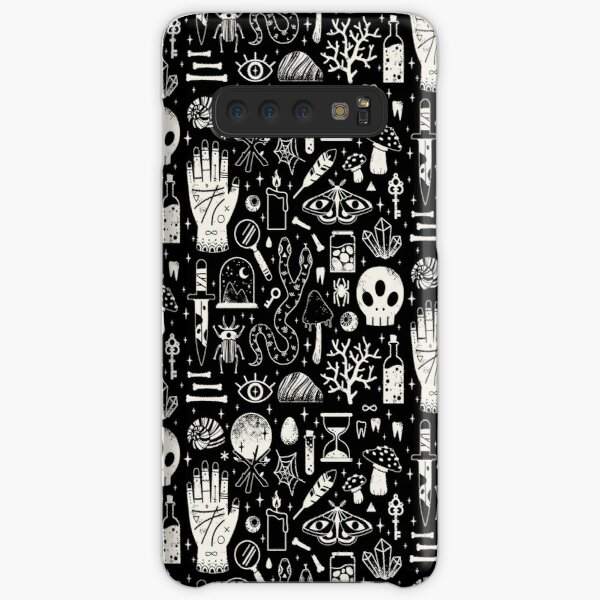 Curiosities: Bone Black Samsung Galaxy Snap Case