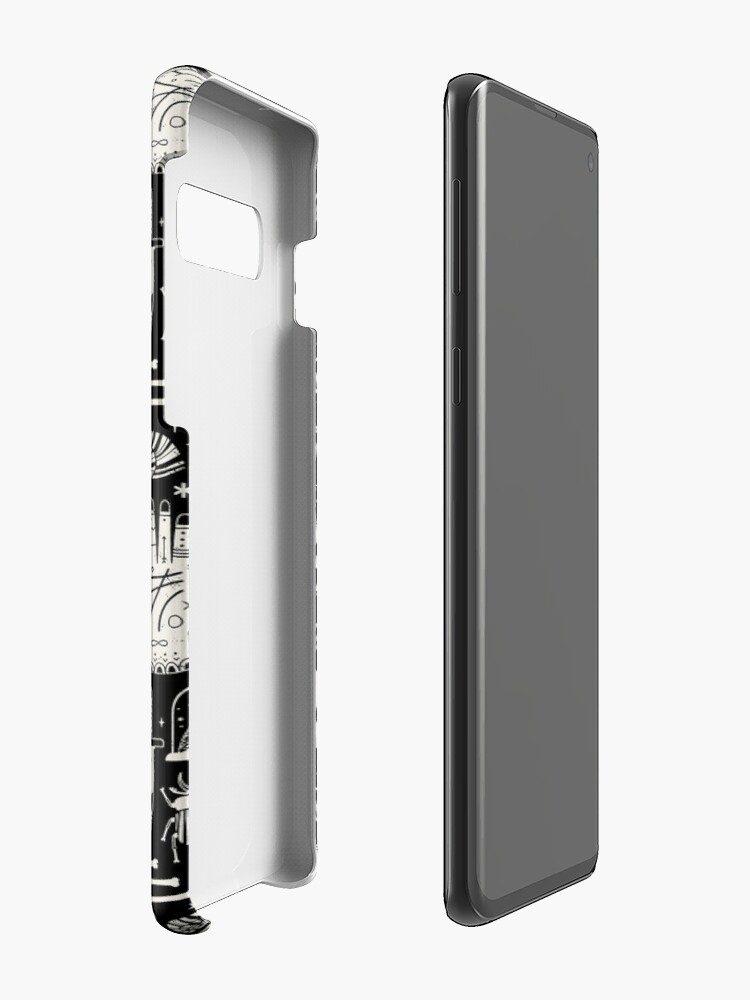 Alternate view of Curiosities: Bone Black Cases & Skins for Samsung Galaxy