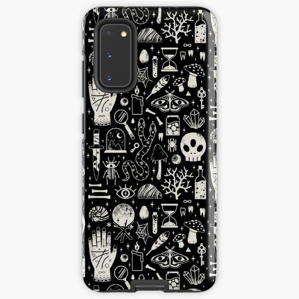Curiosities: Bone Black Samsung Galaxy Tough Case