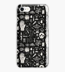 Curiosities: Bone Black iPhone Case/Skin